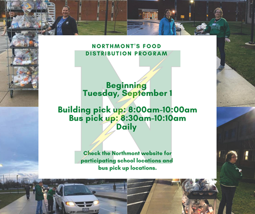 food distribution flyer